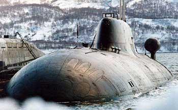 """Подводные лодки проекта 971 """"кошачьей"""
