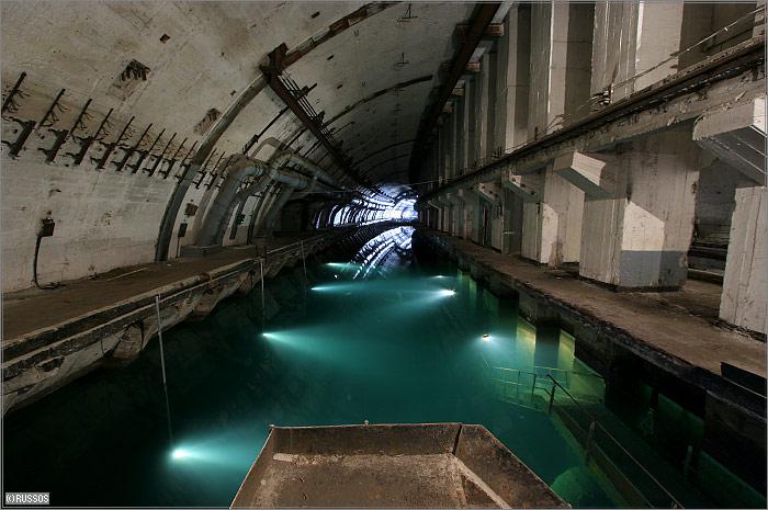 Балаклава подземный завод по ремонту